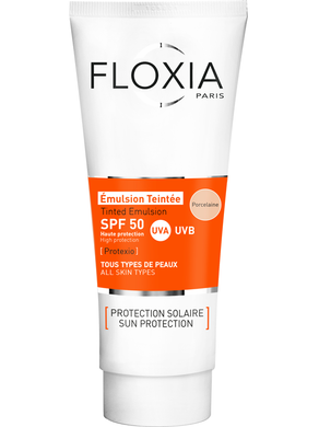 Protexio-Tinted Emulsion SPF50 50mL -Porcelaine واقي الشمس