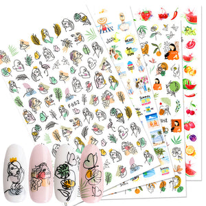 Art Nail stickers ✨