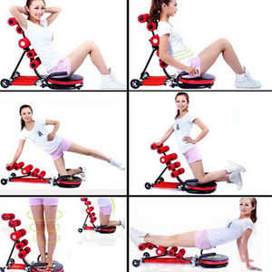 6 SPRINGS EXERCISE MACHINE FOR BELLY