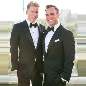 Groom Wear Suits Slim Fit Black Luxury  Wedding Suit For Groom Tuxedo Business Men Party Suits