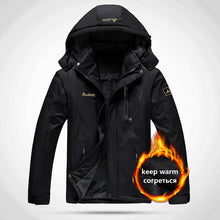 Load image into Gallery viewer, O-Man Women Warm Winter Water Proof Thermal Jacket Fishing Skiing Warm Softshell Hiking Outdoor Camping Jacket 5XL