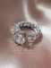 Crown Jewel Brilliant Round Scalloped Ring
