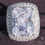 HBIC 15-carat Emerald Cut Ring