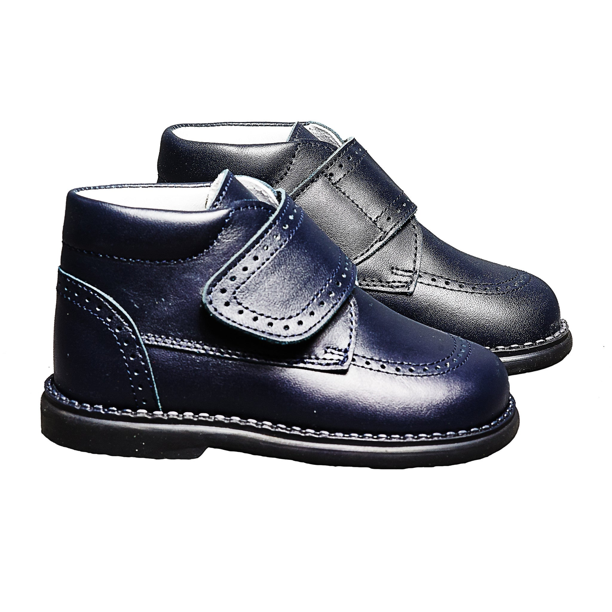Andanines - Navy Ankle Shoes