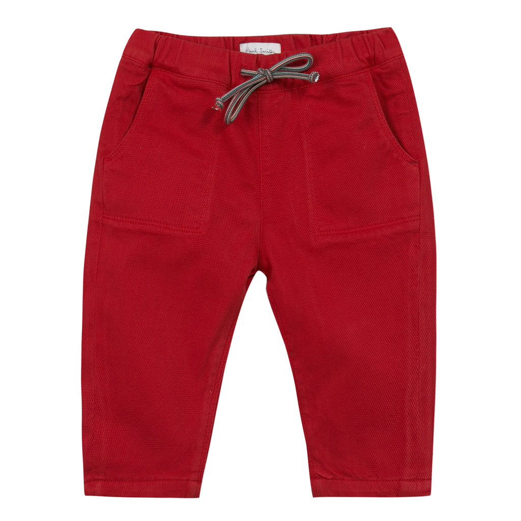 Paul Smith Junior - Massim Red Trousers
