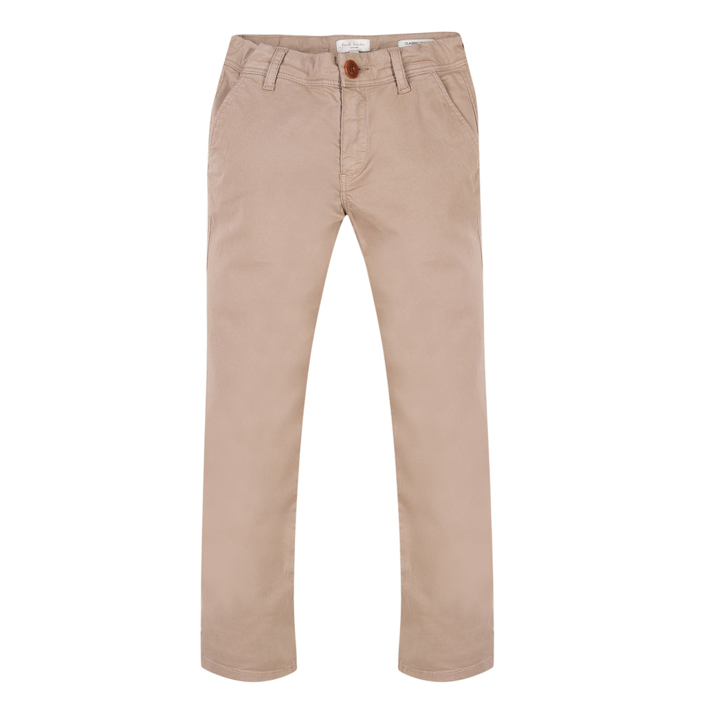 Paul Smith Junior - Boys Light Beige 'Russel' Chino Trousers