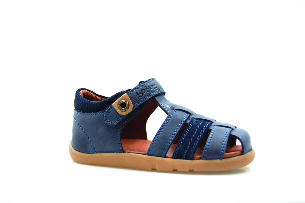 Bobux - Navy Global Roamer Sandal