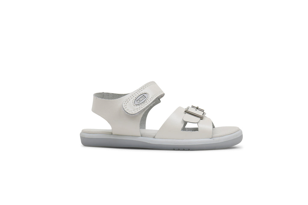 Bobux - Unisex White Pop Sandals