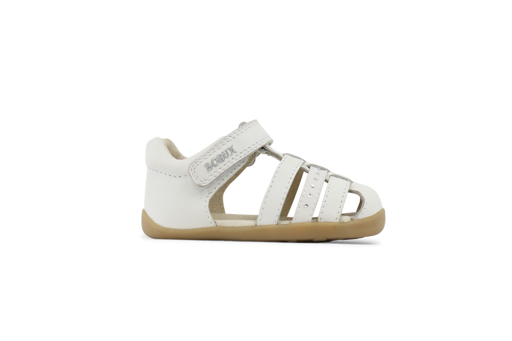 Bobux - Girls White Jump Sandal