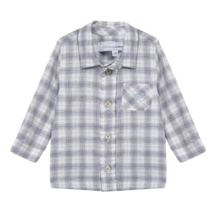 Tartine Et Chocolat - Cool Blue Checked Shirt