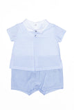 Laranjinha - Light Blue Romper Suit