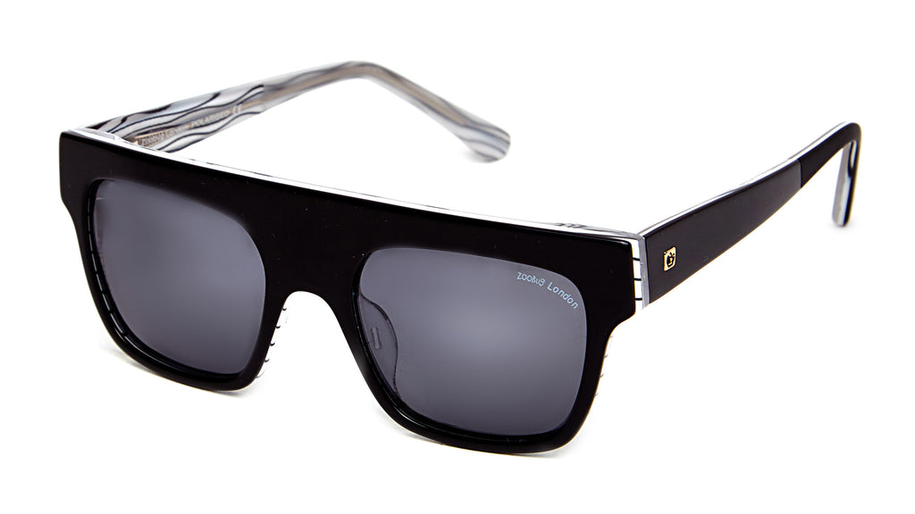 ZooBug - Super Black Lines Sunglasses