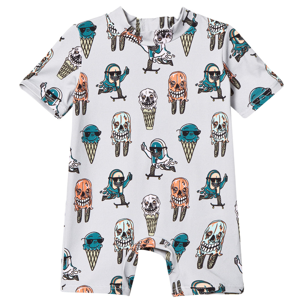 Stella McCartney Kids - Baby Boys Colour Changing 'Sonny' All In One
