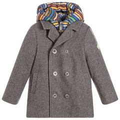 Paul Smith Junior - Pierrot Cashmere Blend Coat