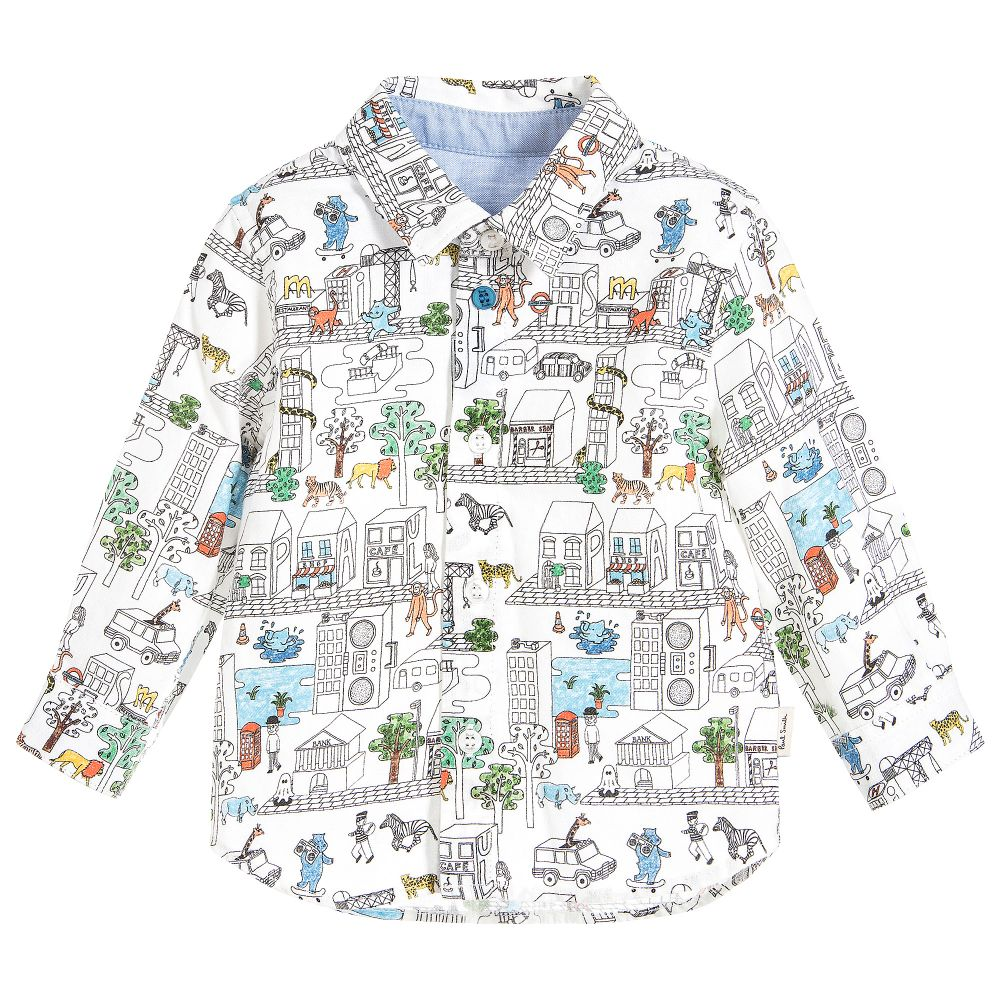 Paul Smith Junior - Safari Print Pan Shirt