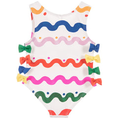 Stella McCartney Kids - Baby Girls 'Lisa' Bow Swimsuit