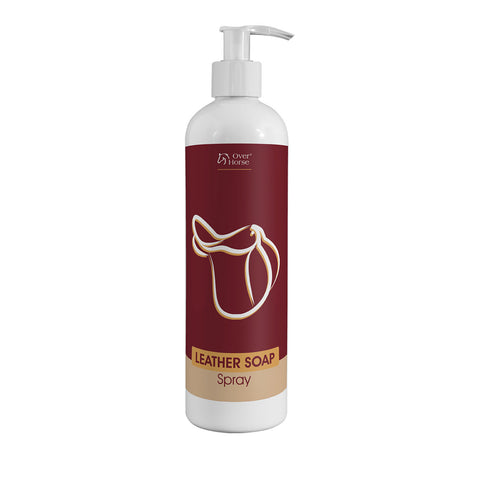 Over Horse Leather Soap Spray 400ml