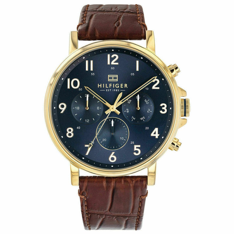 Mens Blue Chronograph Tommy Hilfiger Watch 1710380