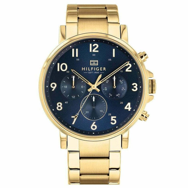 Mens Gold Chronograph Tommy Hilfiger Watch 1710384