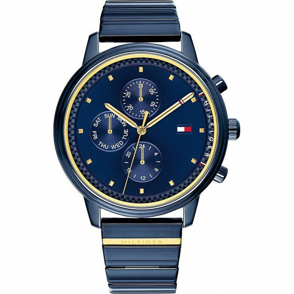 Ladies Gigi Hadid Blue Chronograph Tommy Hilfiger Watch 1781893