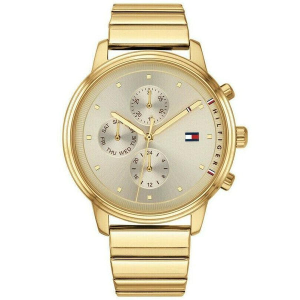 Ladies Gold Chronograph Tommy Hilfiger Watch 1781905