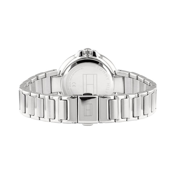 Ladies / Womens Angela Silver Stainless Steel Strap Tommy Hilfiger Designer Watch 1782126