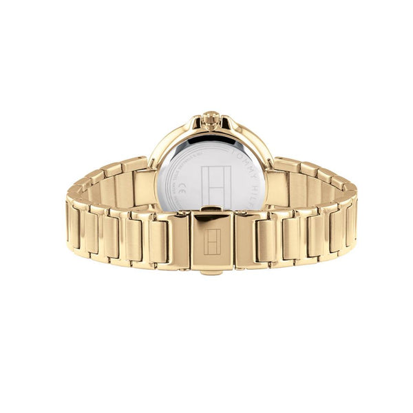 Ladies / Womens Angela Gold Bracelet Strap Tommy Hilfiger Designer Watch 1782128