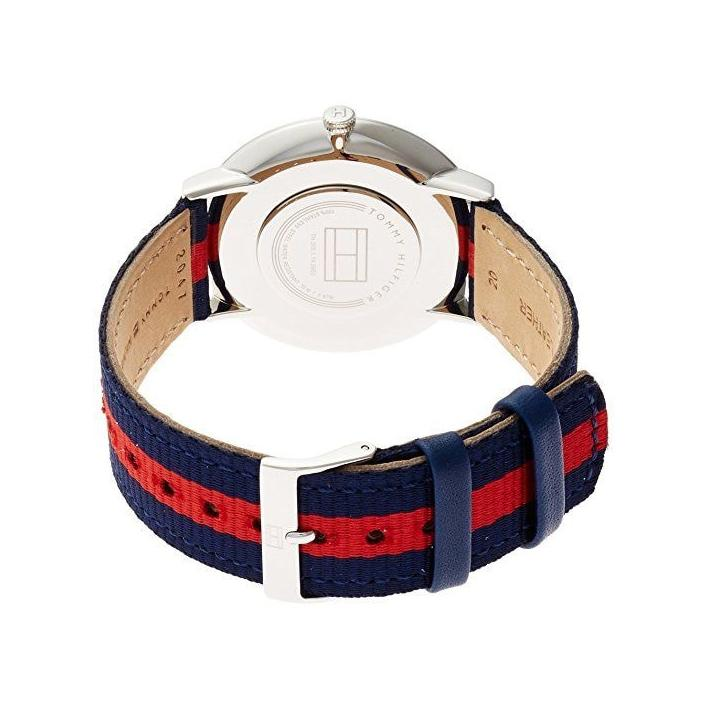 Mens Ultra Slim Fabric Strap Tommy Hilfiger Watch 1791328