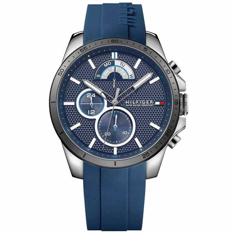 Mens Blue Chronograph Tommy Hilfiger Watch 1791350