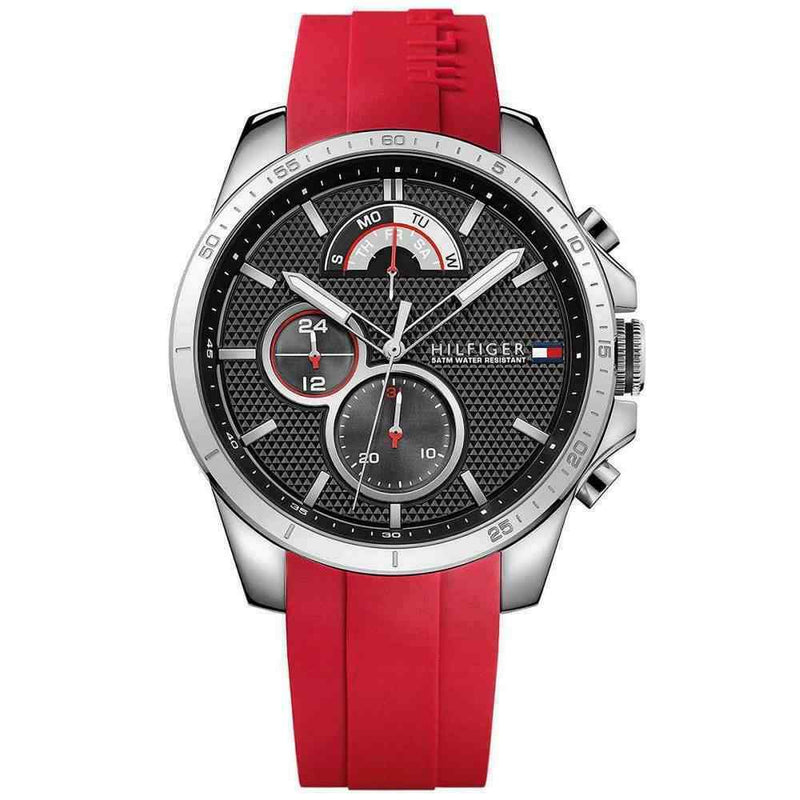 Mens Red Chronograph Tommy Hilfiger Watch 1791351
