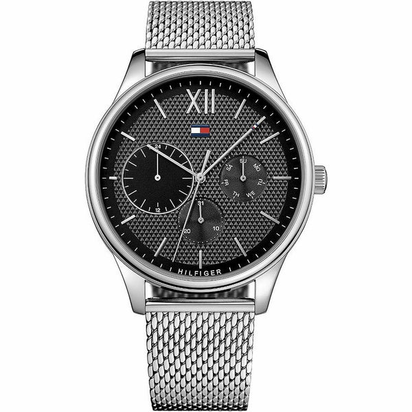 Mens Black Chronograph Tommy Hilfiger Watch 1791415