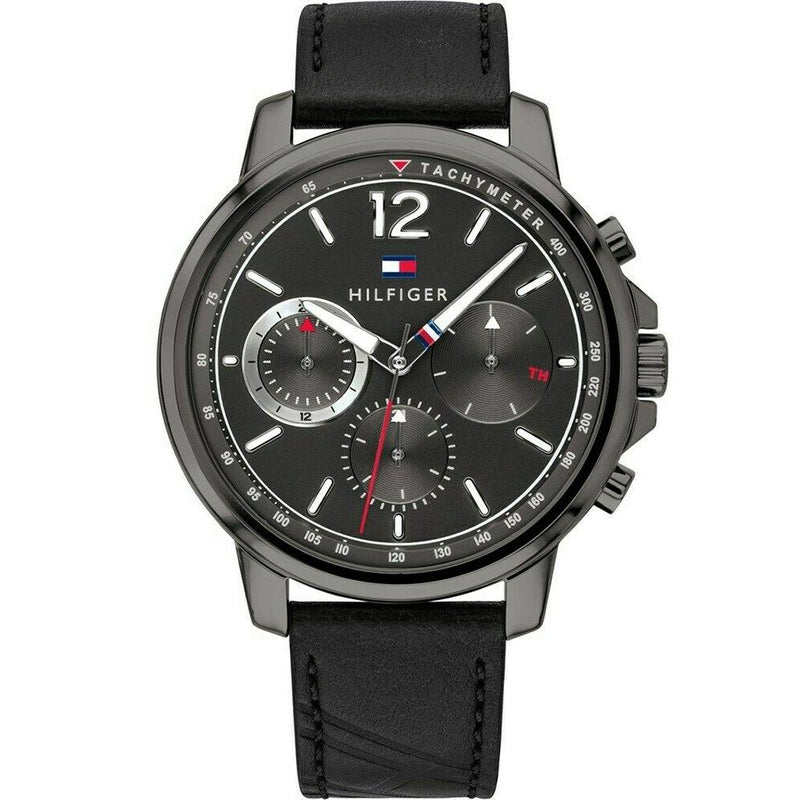 Mens Black Chronograph Tommy Hilfiger Watch 1791533