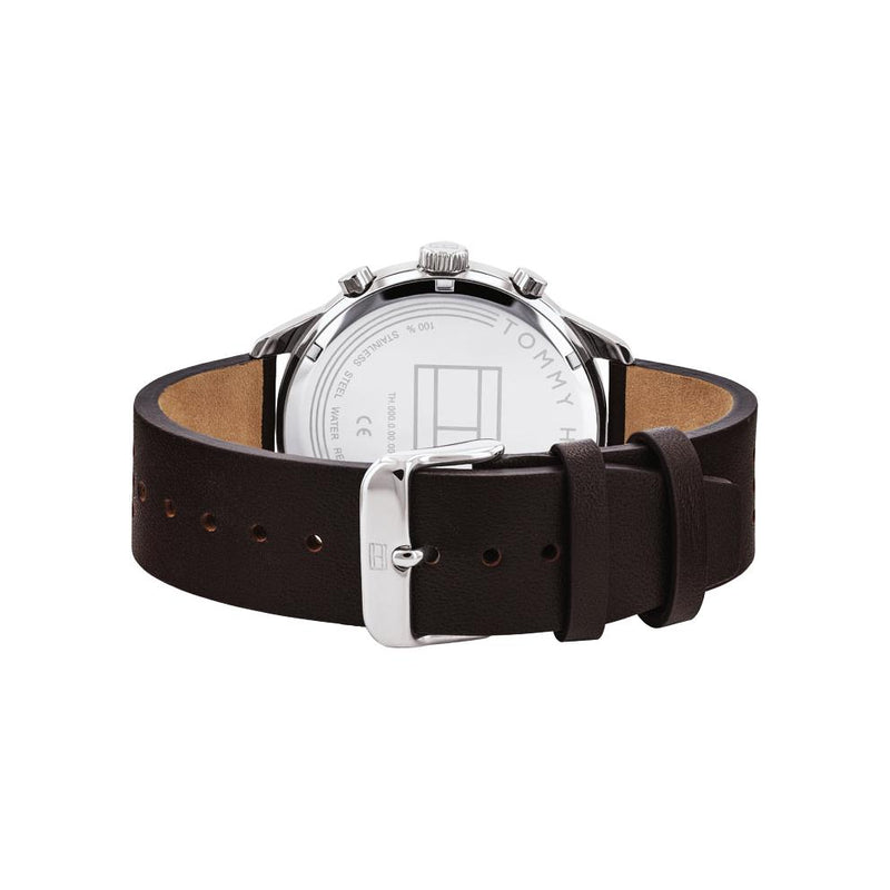 Mens Grey Multi Function Tommy Hilfiger Watch 1791579