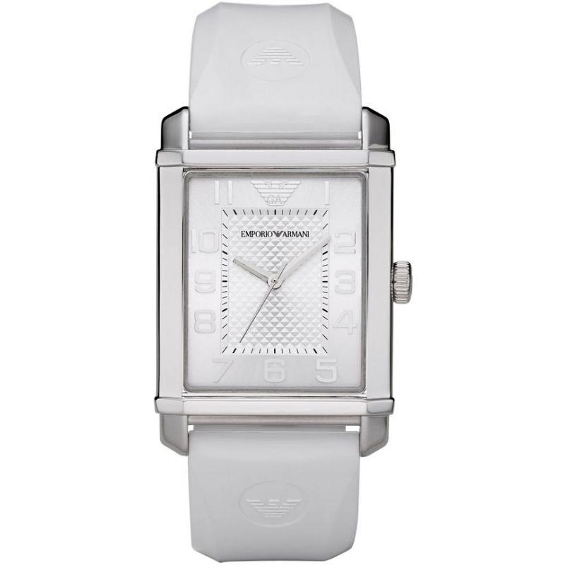 Ladies Watch Rubber Strap Emporio Armani Watch AR0498