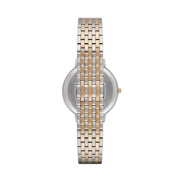 Ladies / Womens Two Tone Stainless Steel Bracelet Emporio Armani Designer Watch AR2515