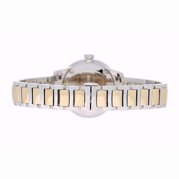 Ladies / Womens Classic Silver & Gold Two-Tone Stainless Steel Burberry Designer Watch BU10118