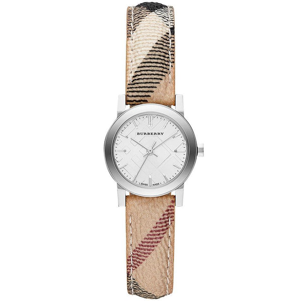 WoMens The City Haymarket Check Burberry Watch BU9222