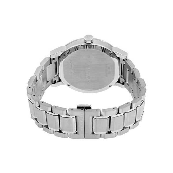 Mens / Gents Silver Stainless Steel Chronograph Burberry Designer Watch BU9901