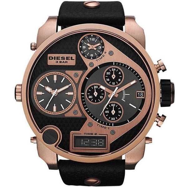 Mens / Gents Rose Gold Mr Daddy Chronograph Diesel Designer Watch DZ7261