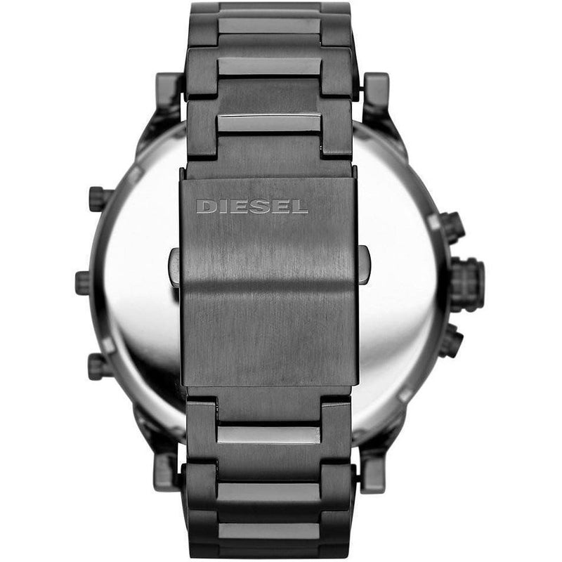 Mens / Gents Gunmetal Grey Mr Daddy 2.0 Chronograph Diesel Designer Watch DZ7315