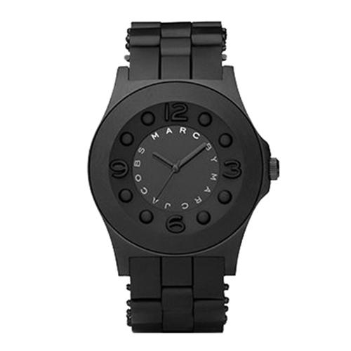 Ladies / Womens Pelly Black Rubber Strap Marc Jacobs Designer Watch MBM2510
