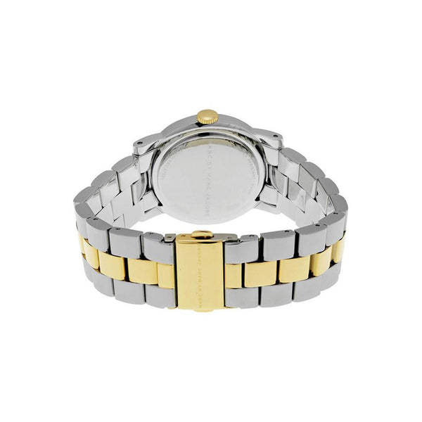 Ladies / Womens AMY Silver Two-Tone Stainless Steel Marc Jacobs Designer Watch MBM3139