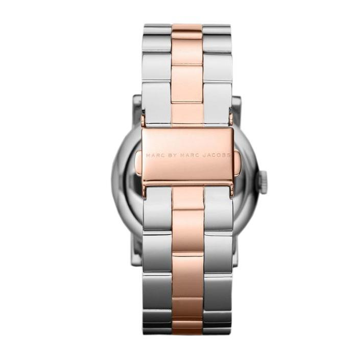 Ladies / Womens AMY Rose Gold Stainless Steel Marc Jacobs Designer Watch MBM3194
