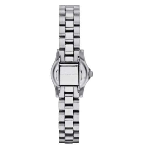 Ladies / Womens Dinky Yellow Dial Silver Stainless Steel Marc Jacobs Designer Watch MBM3201