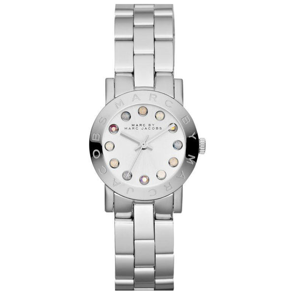 Ladies / Womens AMY Dexter Silver Stainless Steel Marc Jacobs Designer Watch MBM3217