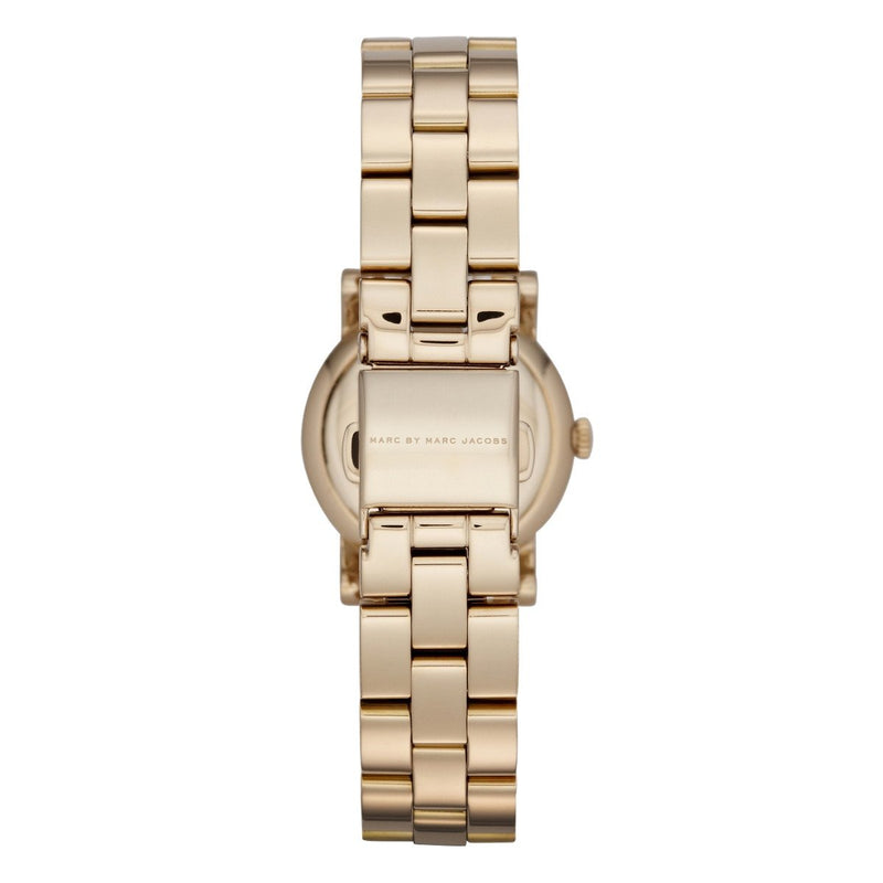 Ladies / Womens AMY Dexter Gold Stainless Steel Marc Jacobs Designer Watch MBM3218