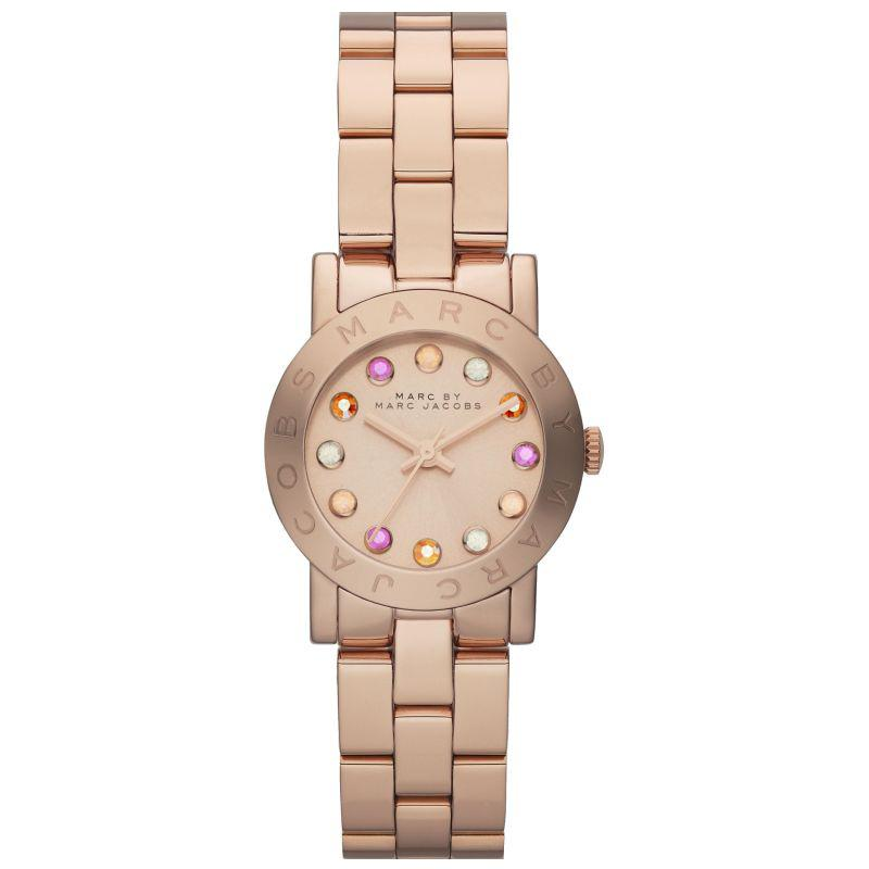 Ladies / Womens AMY Dexter Rose Gold Stainless Steel Marc Jacobs Designer Watch MBM3219