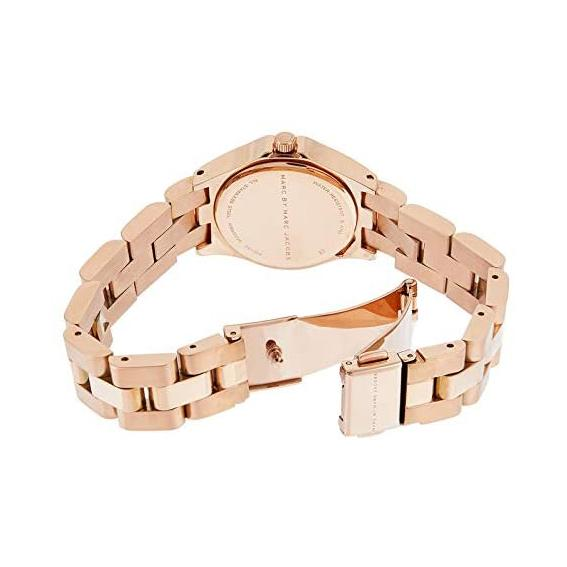 Ladies / Womens Baby Dave Rose Gold Stainless Steel Marc Jacobs Designer Watch MBM3235