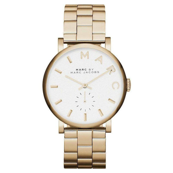 Ladies / Womens Baker Gold Stainless Steel Marc Jacobs Designer Watch MBM3243