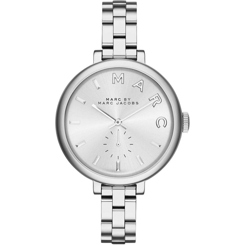Ladies / Womens Sally Silver Stainless Steel Marc Jacobs Designer Watch MBM3362